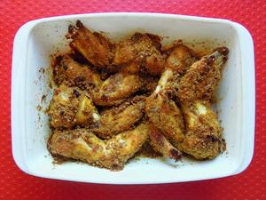 Ali di pollo alle spezie