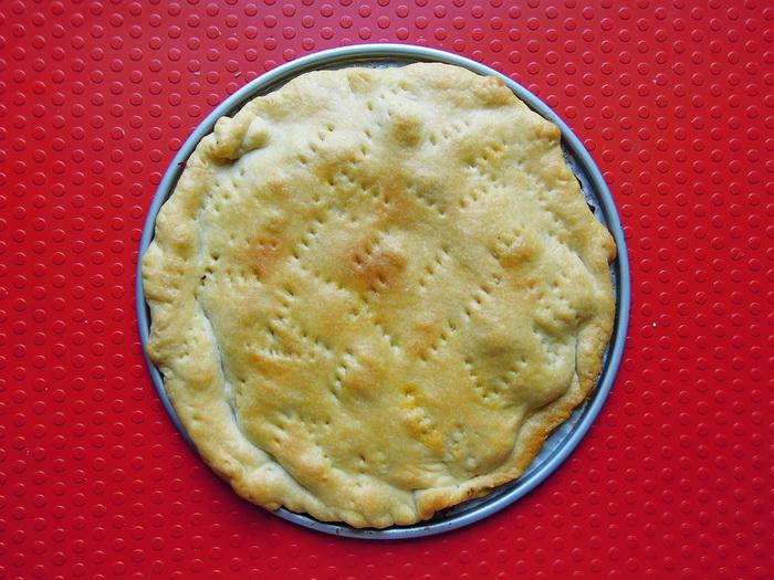 Rovesciata ( Tarte Tatin ) di pomodorini.
