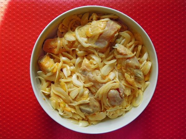 Yassa di pollo - Marinata